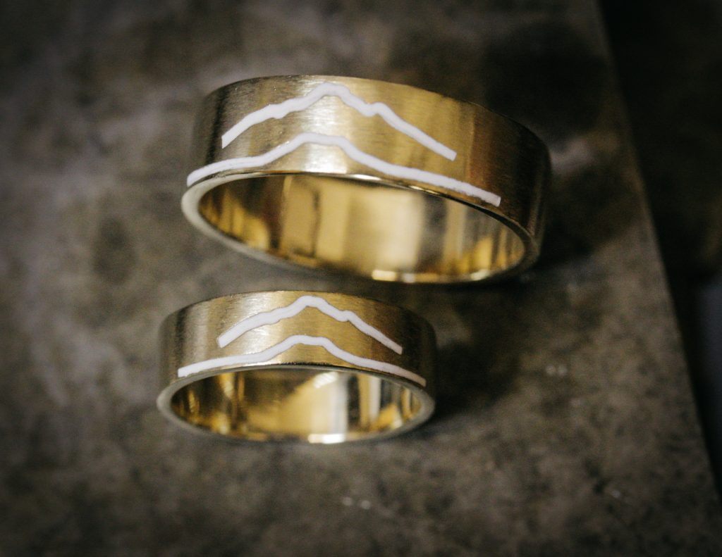 individually tailored custom rings