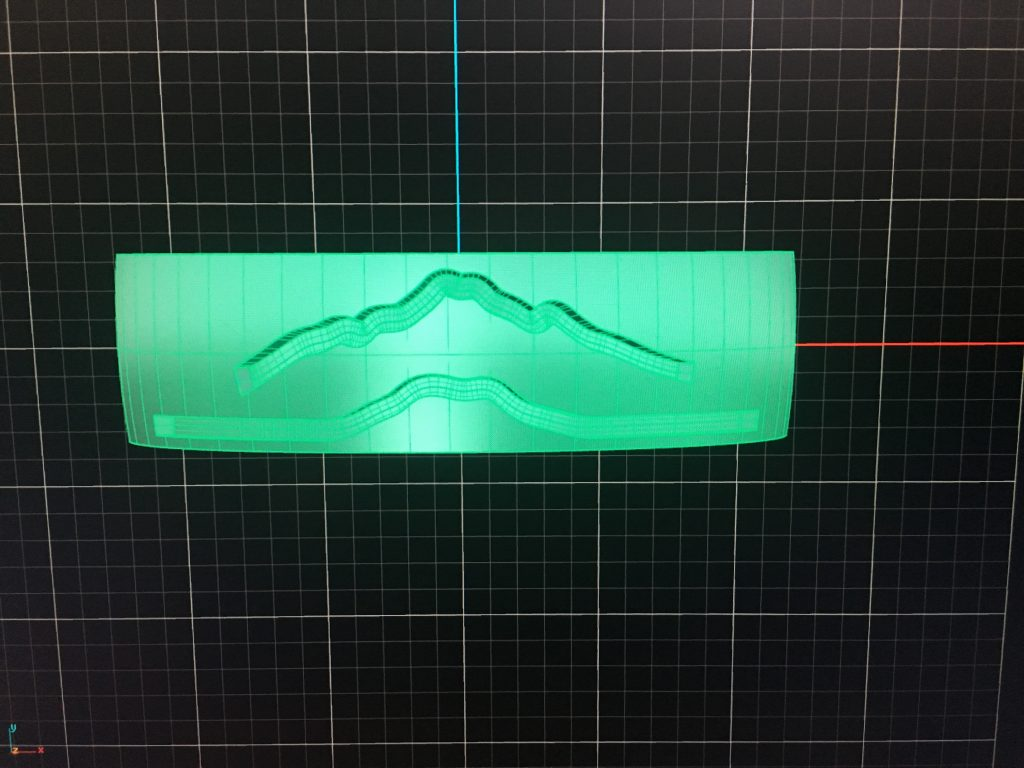 Custom Mountain Ring CAD Rendering