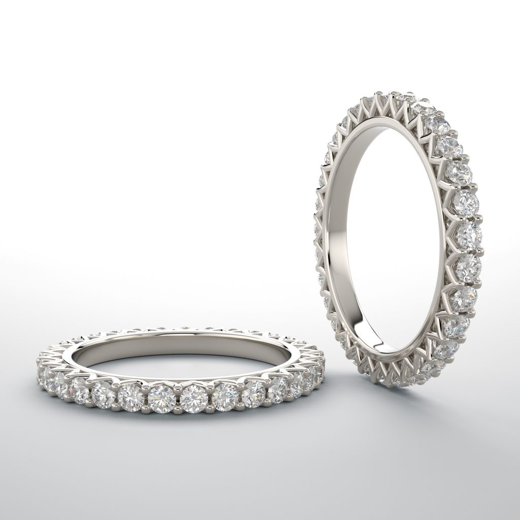 a full eternity band.