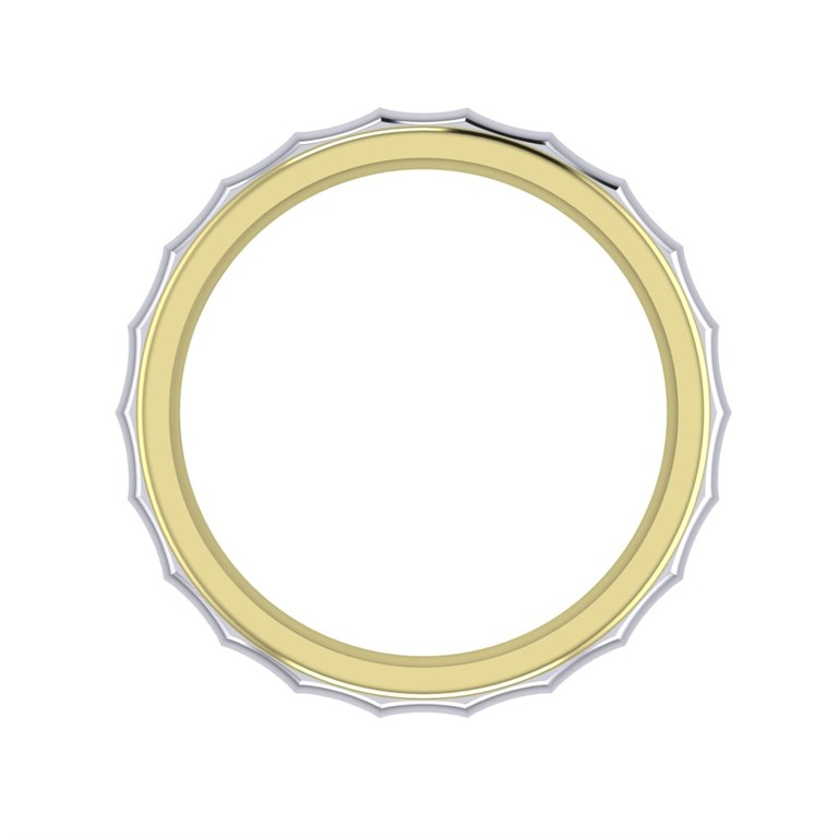 convex ring pattern